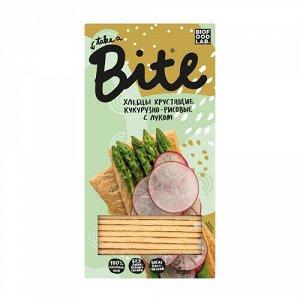 """Хлебцы """"Кукурузно-рисовые"""" с луком, хрустящие Bite"""