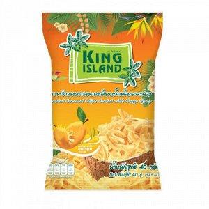 Кокосовые чипсы с манго King Island