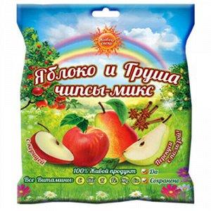 """Чипсы-микс с корицей """"Яблоко и Груша"""" Живые снеки"""