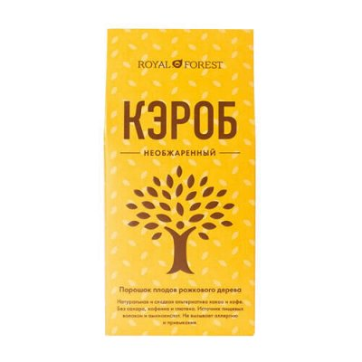 Гигантская ЭКО-ветка! Лучшее в твою продуктовую корзину — Чай, кофе, какао-Кэроб