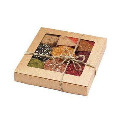 Гигантская ЭКО-ветка! Лучшее в твою продуктовую корзину — Подарки и подарочные наборы-Продуктовые наборы — Вафли и печенье