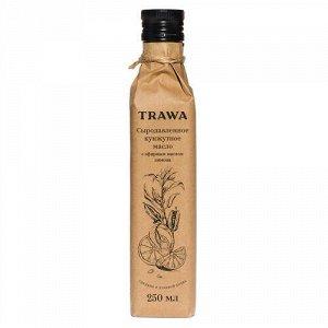 Масло кунжутное с эфирным маслом лимона, сыродавленное Trawa