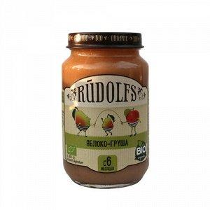 """Пюре фруктовое """"Яблоко-груша"""" Rudolfs"""