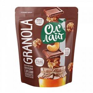 Гранола медовая шоколад с орехами Ол'Лайт