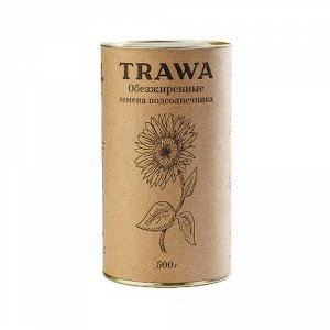 Семена подсолнечника обезжиренные Trawa