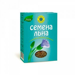 Семена льна с селеном, хромом, кремнием Компас здоровья