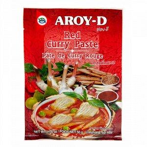 """Паста """"Карри красная"""", в пакетике Aroy-D"""