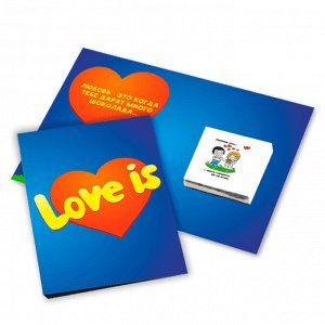 """Love is"" - Мини-открытка"