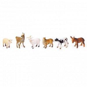 Набор животных «Фермерское хозяйство», 6 фигурок
