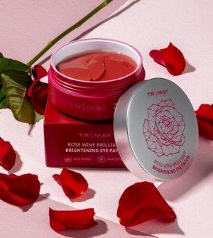 Осветляющие патчи для век с EGF и экстрактами розы и вина EGF Rose Wine Brightening Eye Patch