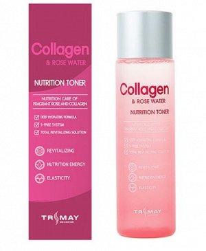 Питательный тонер с коллагеном и экстрактом розы Collagen & Rose Water Nutrition Toner