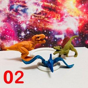 Набор ластиков динозавры 3шт.