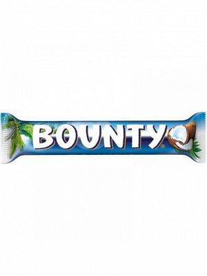 Шоколадный батончик Баунти Bounty,55 г