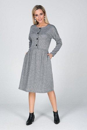 Платье Кайла №1.Цвет:серый