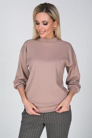 Блузка Флер №4.Цвет:светло-бежевый