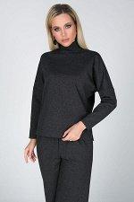 Блузка Джулия №3.Цвет:темно-серый