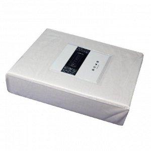 Простынь на резинке сатин 160*200 (кремовый)