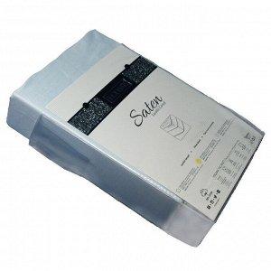 Простынь на резинке сатин 160*200 (светло-голубой)