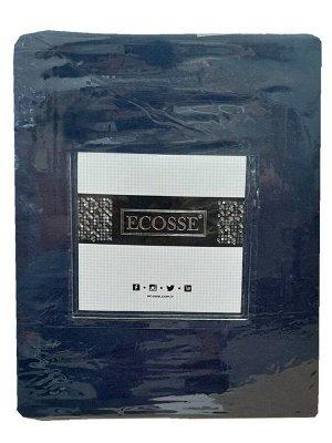 Простынь на резинке сатин 160*200 (темно-синий)