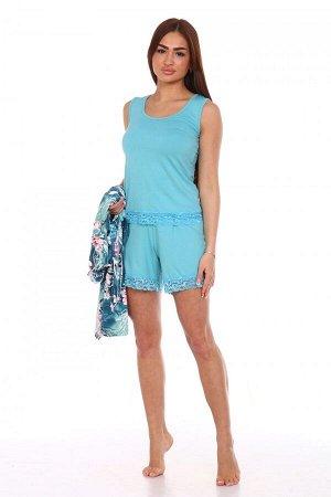 Космплект Ткань: Вискоза; Размеры: 42, 44, 46, 48, 50, 52; Цвет: Голубой