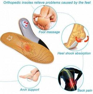 Стельки кожаные ортопедические