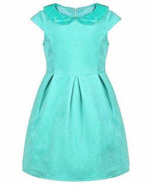 Бирюзовое платье для девочки Цвет: ментоловый