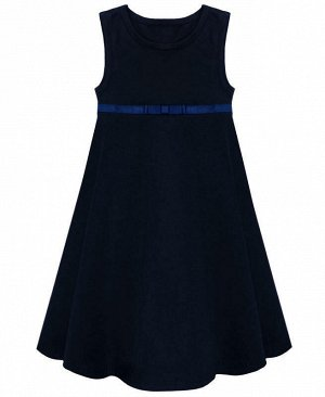 Сарафан для девочки,синий Цвет: синий