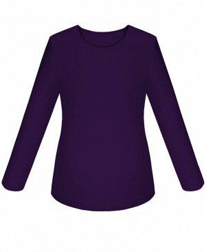 Фиолетовая джемпер (блузка) для девочки Цвет: фиолетовый
