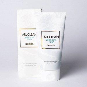 Heimish All Clean White Clay Foam Пенка для очищения кожи с белой глиной и натуральными эфирными маслами 150 мл