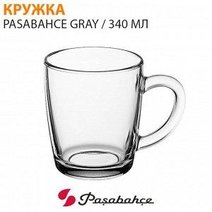 Кружка Pasabahce Gray / 340 мл