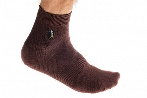 Дешевые носки мужские, 25-28 размера, коричневые