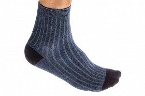 Носки мужские хлопок, размер 25-28, цвет голубой