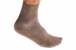 Качественные носки мужские, хлопок, размеры 25-28, бежевые