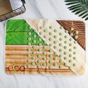 Массажный коврик для спины «Эко», 40 х 60 см