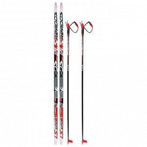 Комплект лыжный БРЕНД ЦСТ 180/140 (+/-5 см), крепление NNN, цвет МИКС