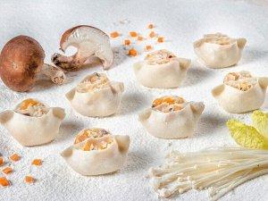 Дамплинги с грибами и овощами (15шт)