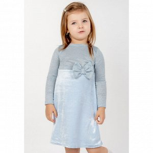 Платье велюр 605В для девочки