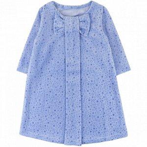 Платье велюр 218В3 для девочки