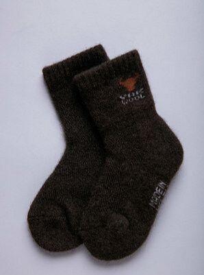 Носки детские 100% шерсть яка