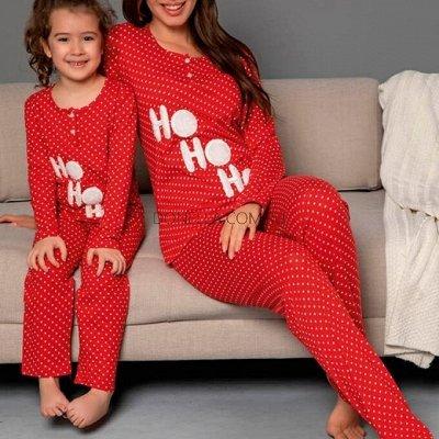 Детское белье BAYKAR, новое поступление трусиков и пижам — Пижамы для девочек и мамочек — Комплекты белья
