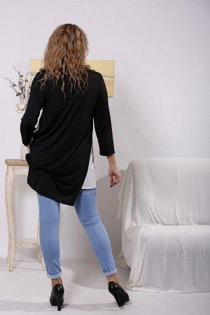 Блуза 1633-1 черный