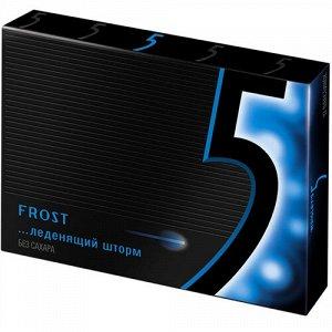 "Жевательная резинка Wrigley's 5 Frost ""Леденящий шторм"" без сахара,31.2 г"
