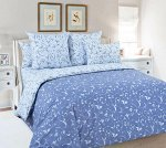 Комплект постельного белья 2-спальный с Евро простыней, перкаль (Габриэль)