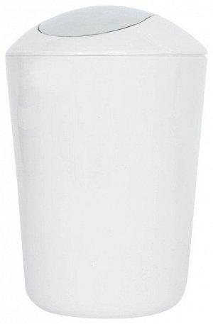 AXENTIA Ведро для мусора 5л, цв.белый 251078