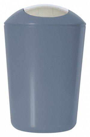AXENTIA Ведро для мусора 5л, цв.серый 251080