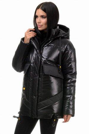 Куртка «Элла», 42-48, арт.300 черный