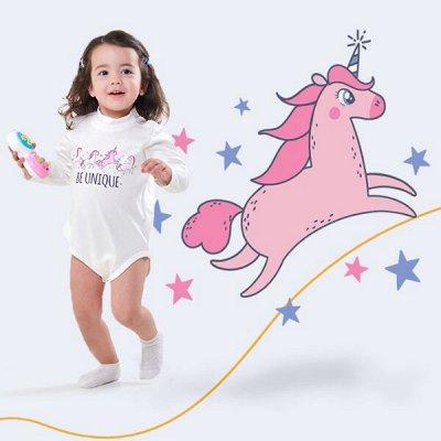 CHERUBINO детский трикотаж ! Возвращение любимого бренда! 👍 — Ясельки девочки — Боди и песочники
