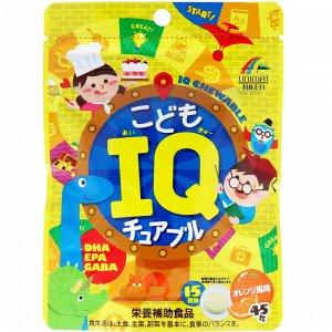 UNIMAT RIKEN IQ Chewable For Kids - жевательные конфеты для поддержки умственных нагрузок
