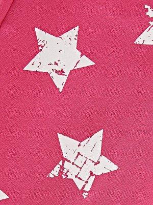 Брюки со звездами (98-122см) UD 0478(3)малина