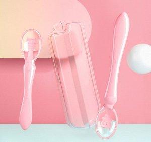 Ложки, цвет розовый